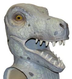 Cabezudo Especial Dinosaurio tamaño mediano