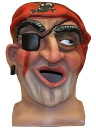 Cabezudo Cadete Pirata tamaño mediano