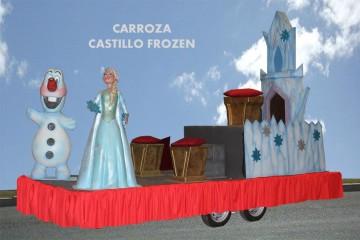 alquiler carrozas infantil modelo frozen