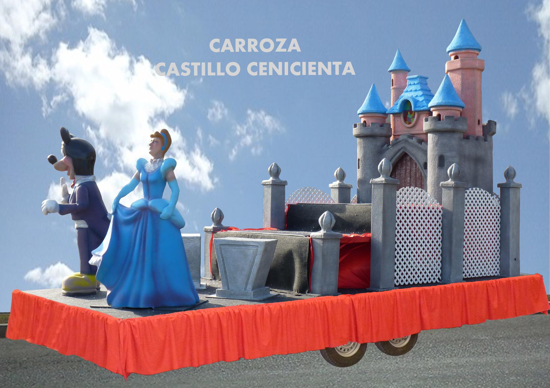 Carroza Infantil Cenicienta y Castillo