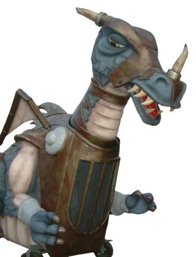 Figura Dragón 8 metros con movimientos