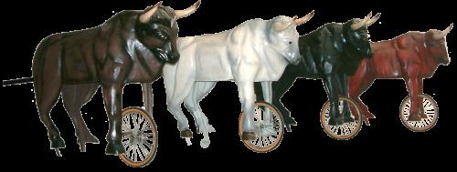 carretones de toros completos
