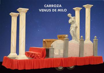 alquiler carrozas fiestas patronales Carroza Venus Milo