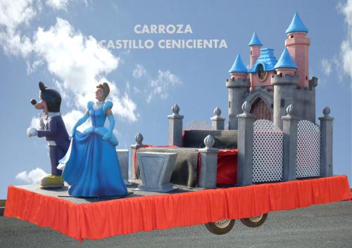 Alquiler Carrozas Infantiles modelo Castillo Cenicienta