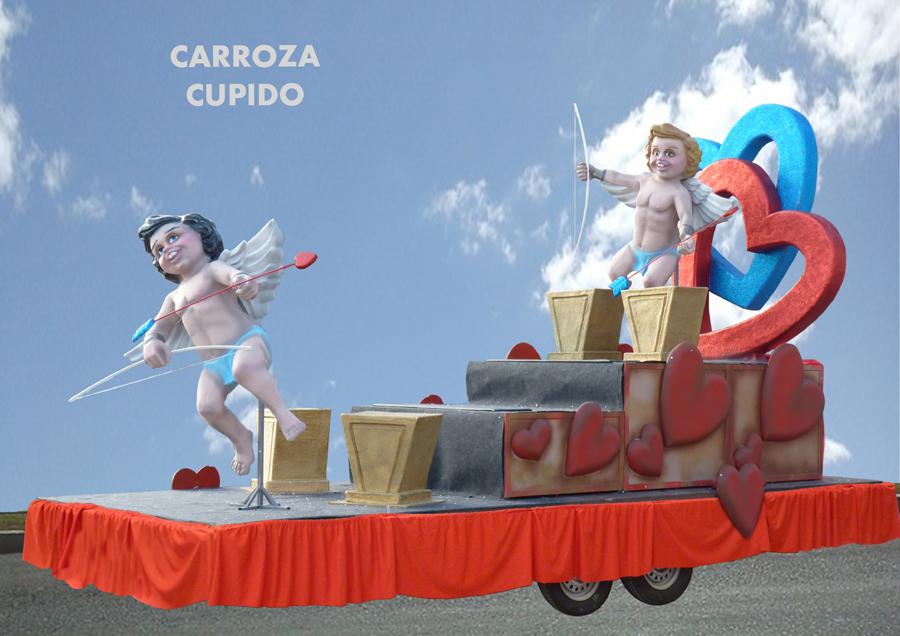 Carroza alquiler Cupido
