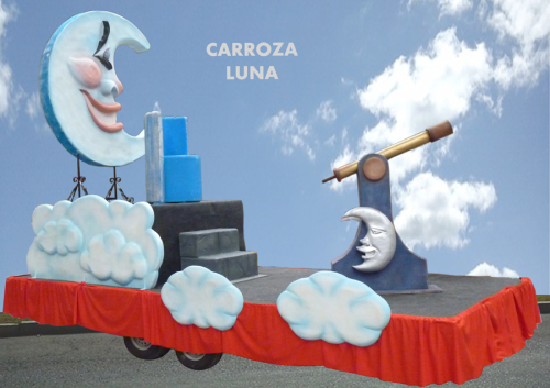 Alquiler Carrozas Infantiles modelo Luna