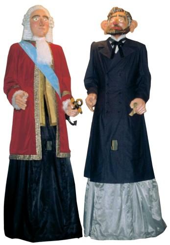 pareja de Gigantes de Logroño