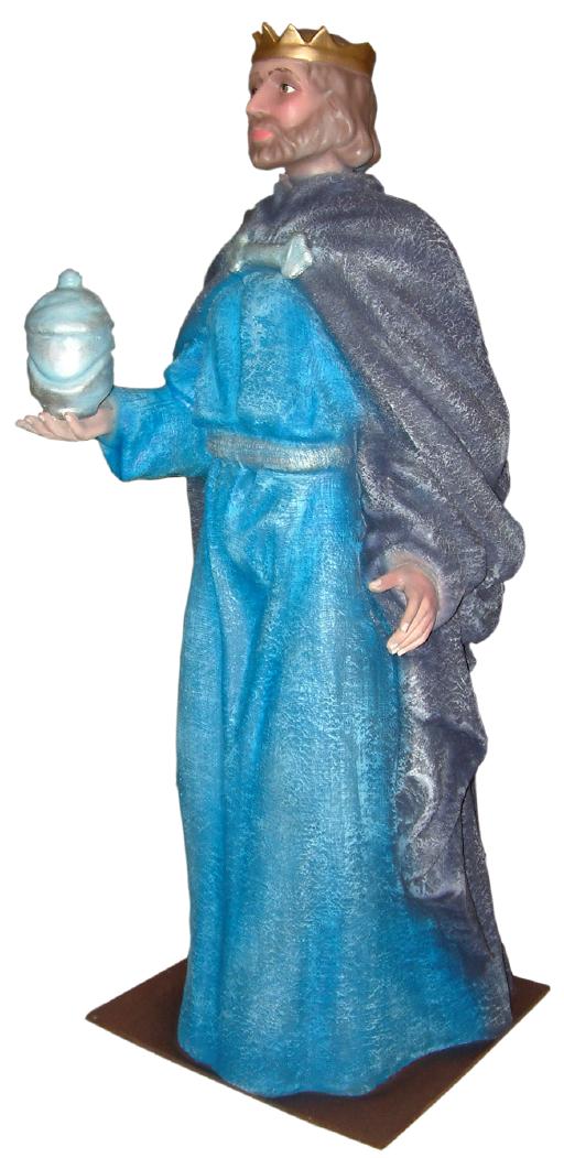 Figura Belén Rey Gaspar para belenes gigantes