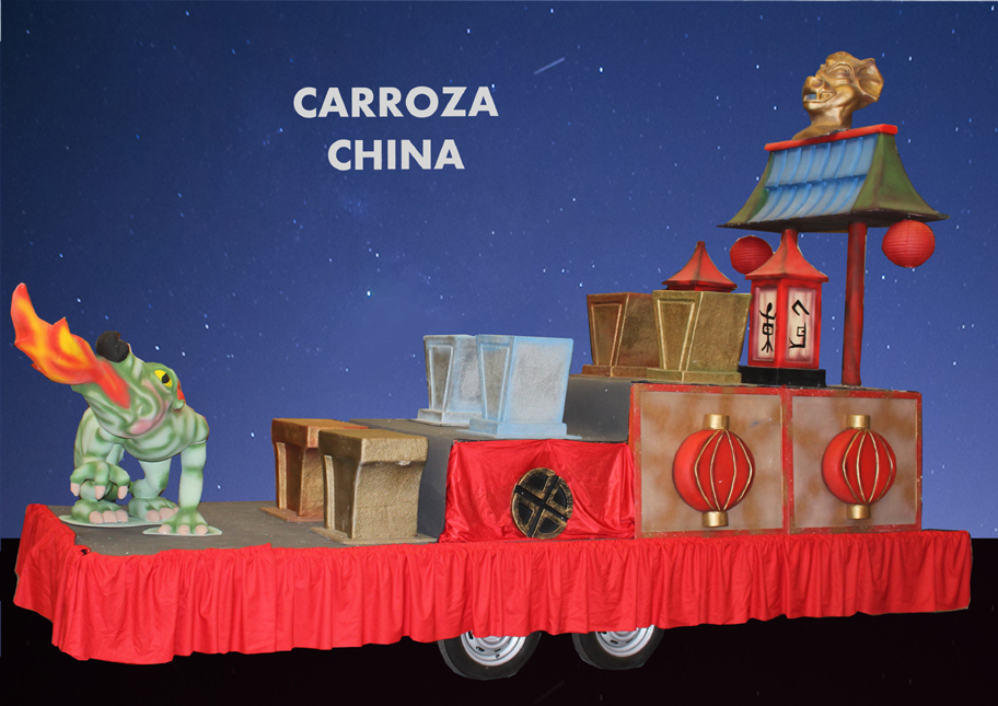 alquiler Carroza China