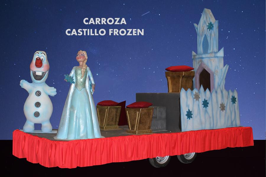 alquiler carrozas infantiles modelos Carroza Frozen
