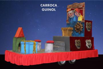 alquiler carroza infantil modelo Carroza Guiñol