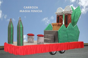 alquiler de carrozas para reyes magos modelo magia fenicia