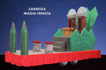 alquiler Carroza modelo Magia Fenicia