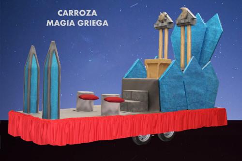 alquiler Carroza modelo Magia griega