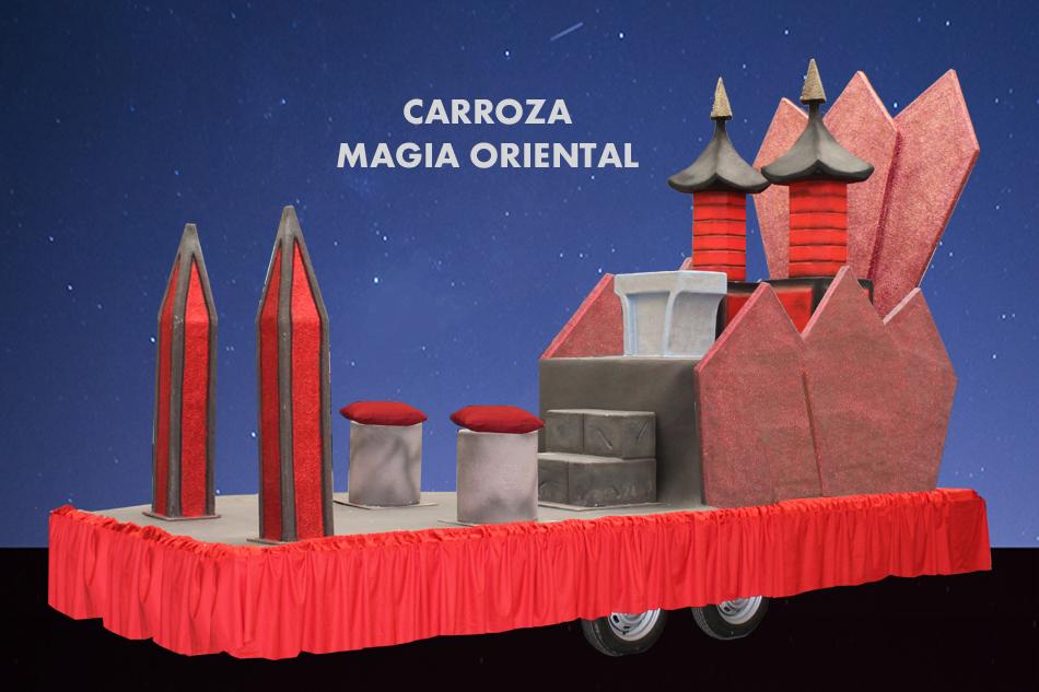 alquiler Carroza Magia Oriental