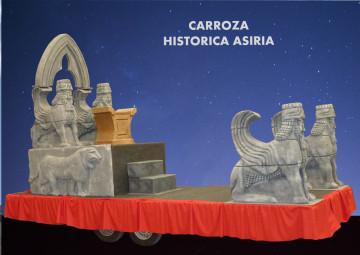 Alquiler de carrozas tipo Históricas modelo Asiria para Reyes Magos