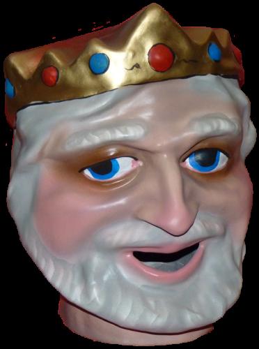 cabezudo para niños del Rey Melchor