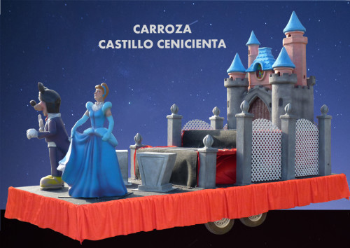 Carroza Castillo Cenicienta