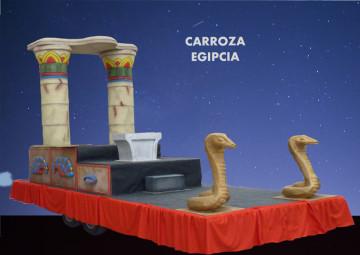 alquiler Carroza reyes magos modelos Egipcia