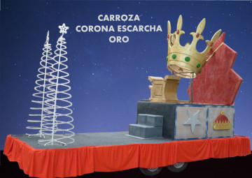 alquiler carrozas modelo Carroza Escarcha Oro