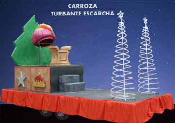 Alquiler carroza Reyes Magos Carroza Escarcha Turbantemodelo