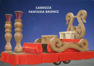 alquiler Carroza Fantasía Bronce