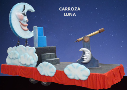 Alquiler Carrozas Reyes Magos modelo Luna