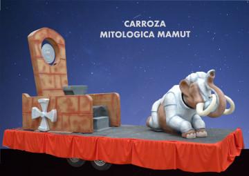 alquiler Carroza Mitológica Mamut