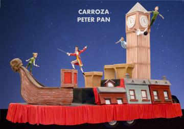 Alquiler carroza Reyes magos modelo Peter Pan