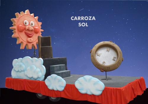 alquiler Carroza modelo Sol