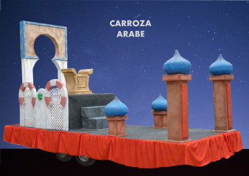 Alquiler carroza árabe