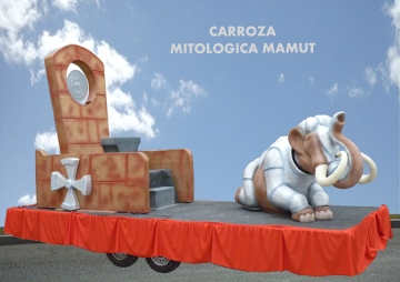 Carroza alquiler mitologica mamut