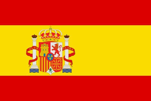 Bandera-tela-España