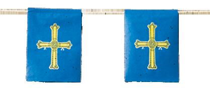 banderas de asturias Fiestas Pueblos