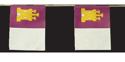 Banderas para fiestas de Pueblos
