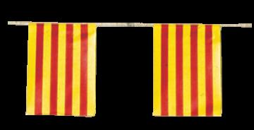 banderas de cataluña fiestas pueblos