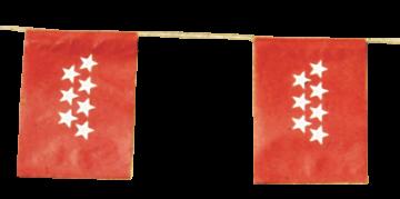 Banderas de Madrid para Fiestas