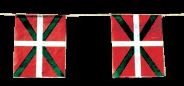 banderas pais vasco para fiestas pueblos