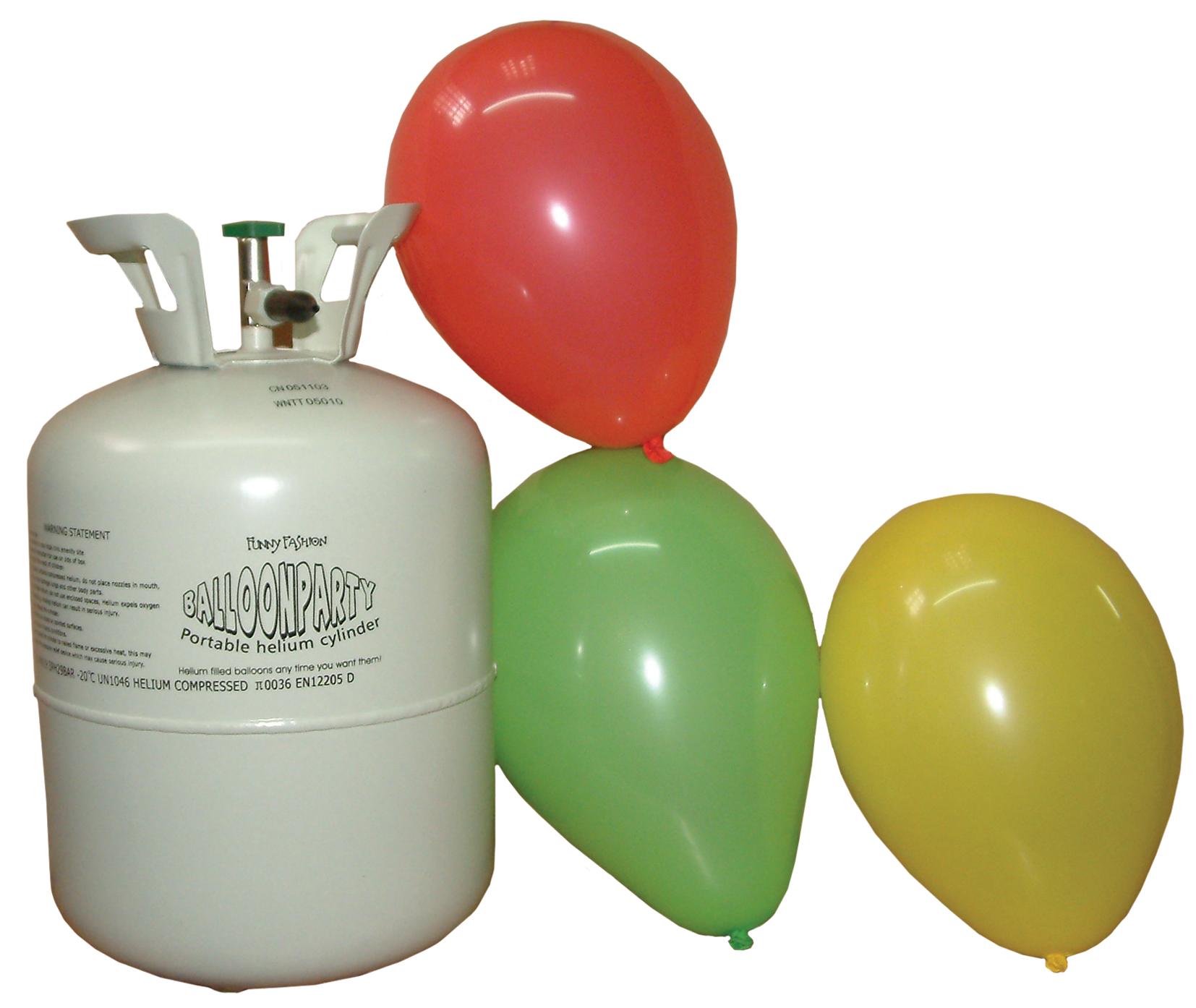 Bombona gas para globos