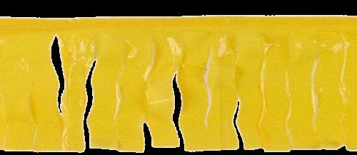 Fleco amarillo para adornar pueblos en fiestas
