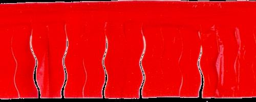 Fleco rojo para adornar pueblos en fiestas