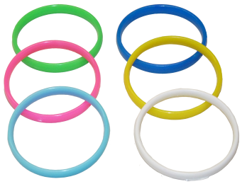 juguetitos y baratijas pulseras plástico colores