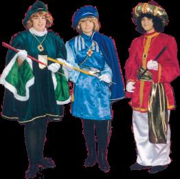 disfraces lujo pajes reyes magos