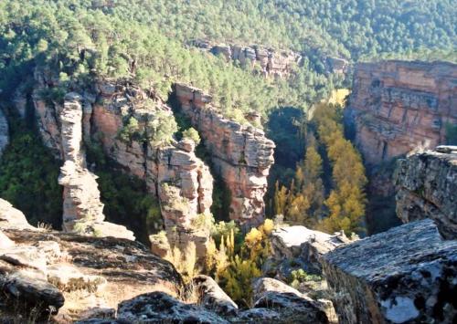 imágenes del parque natural alto-tajo