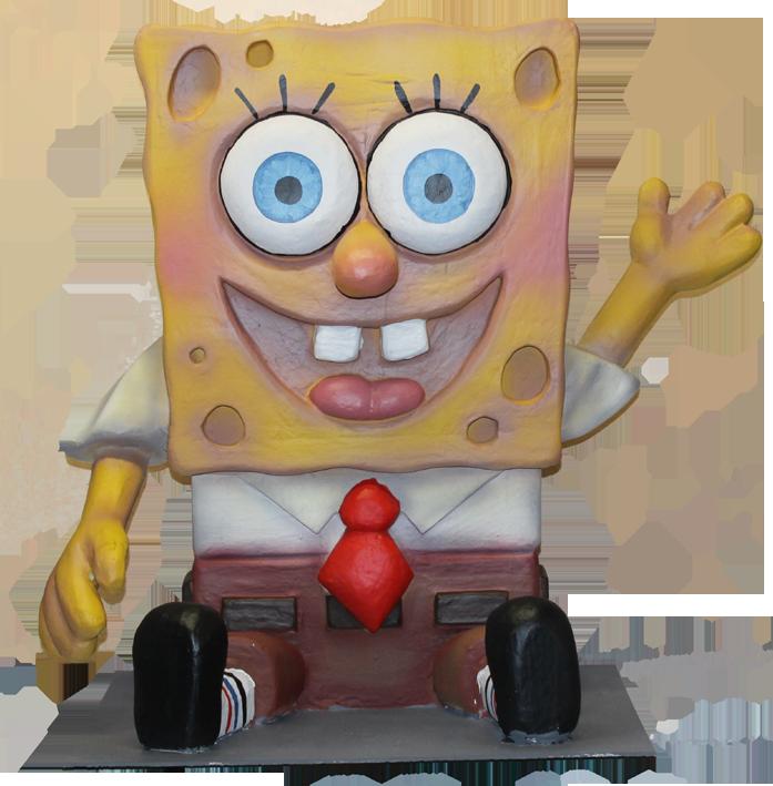 bob esponja en las carrozas de alquiler