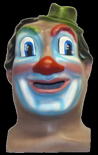 Cabezudo tamaño mediano modelo Clown