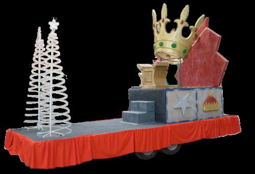 carroza de reyes magos modelo Corona