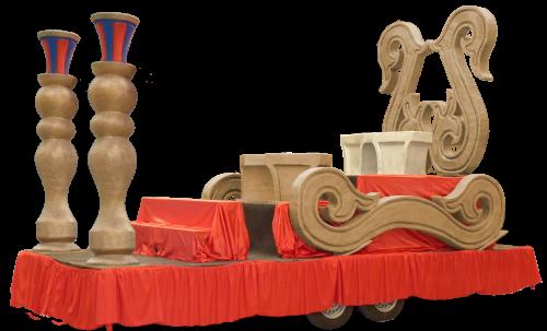 carroza de reyes modelo fantasia