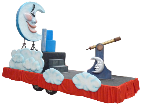 Carroza de Reyes Magos modelo Luna