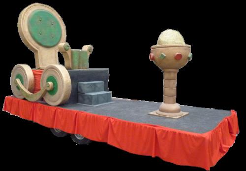 Carroza para Reyes Magos de Sillón Gigante